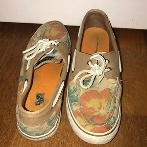 Tropical Sperry Topsider